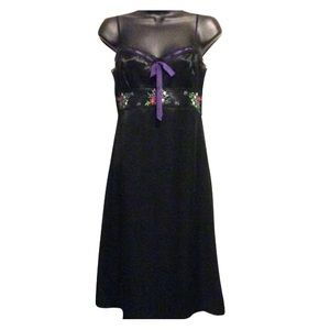Laundry By Shelli Segal Dresses - Laundry by Shelli Segal Silk Embroidered Dress